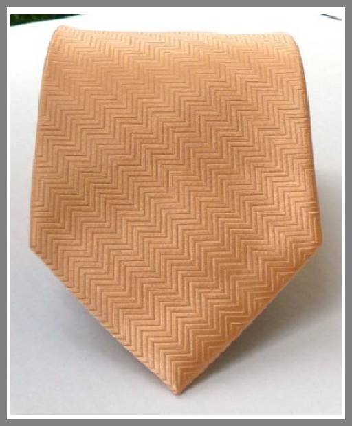 Mens peach ties