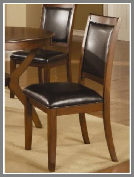 padded dining room chairs image
