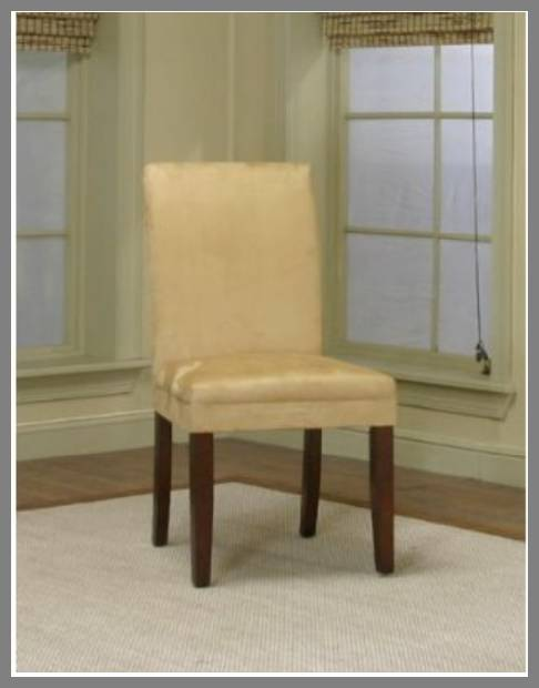 suede dining chairs image