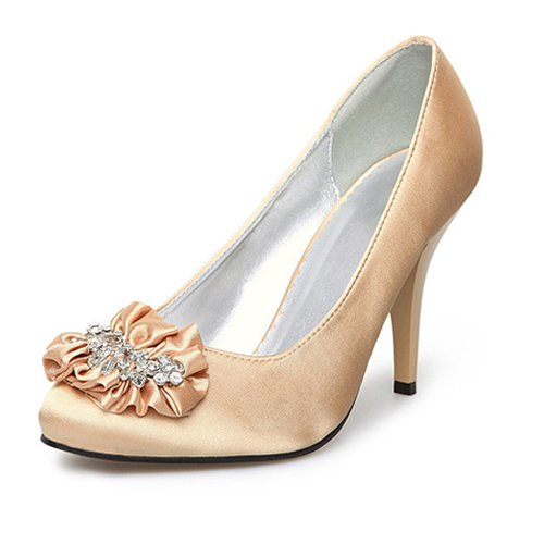 Cheap gold wedding shoes