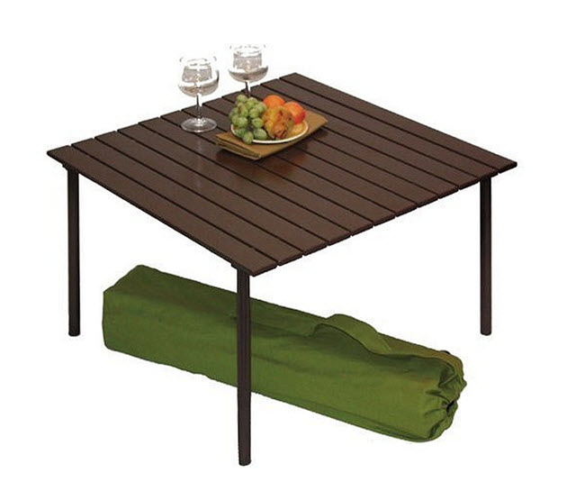 Small folding picnic table modern coffee tables and accent tables folding camping table whereiit watchthetrailerfo