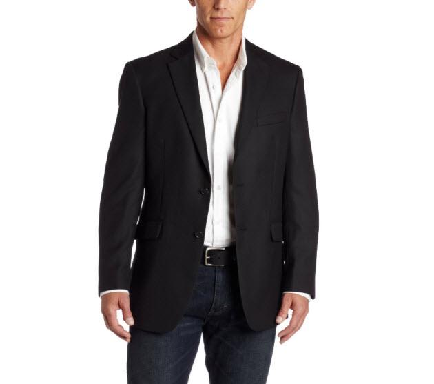 Mens blazers example. Pictured: Jones New York Men's 2 Button Solid ...