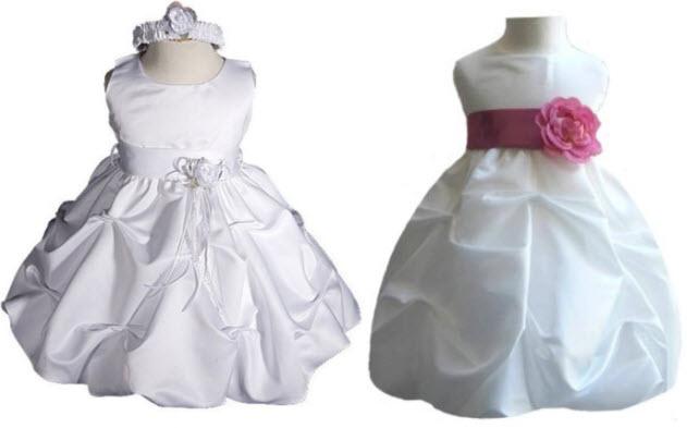 Baby Flower Girl Dresses For Weddings