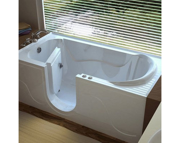 Walk In Bathtub With Door For Seniors