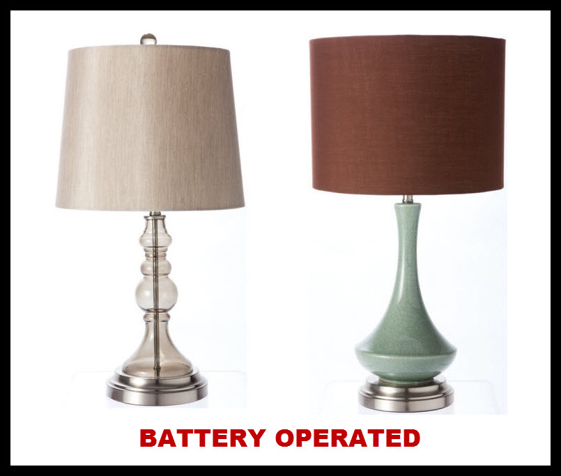 Battery operated cordless table lamps - 2