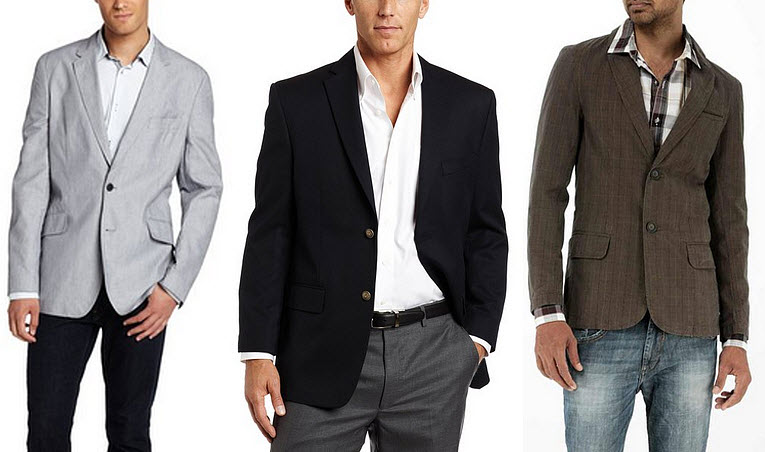 Casual blazers for men - b