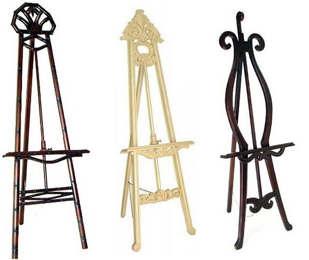 Decorative Wood Easels