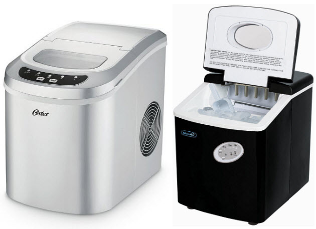 Oster Countertop Ice Maker : with ice to take with you portable ice cube maker