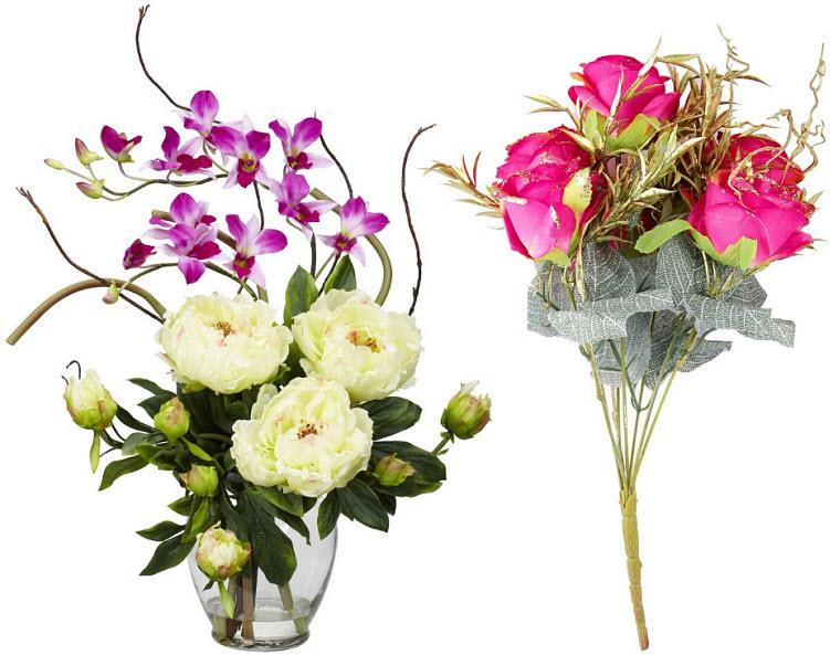 Artificial Flower Arrangements For Home Or Wedding