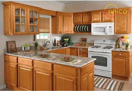 Light oak kitchen cabinets Kitchen design with light oak cabinets
