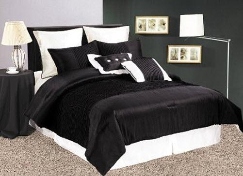 queen size black comforter sets. Black Bedroom Furniture Sets. Home Design Ideas