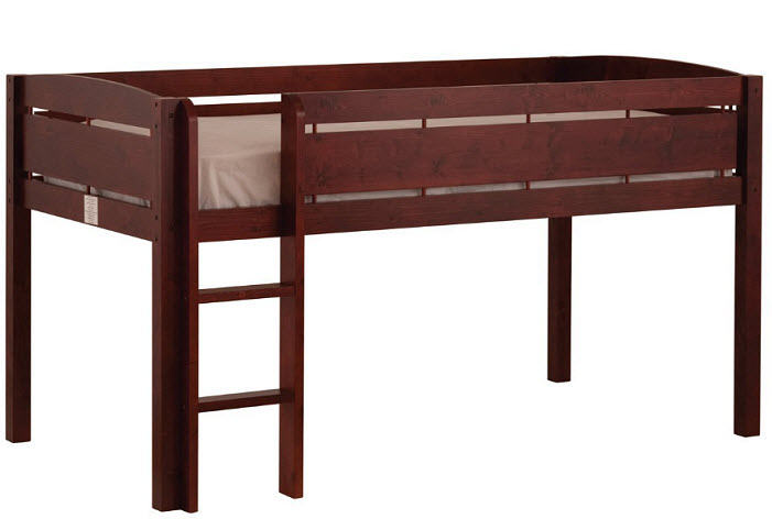 Alpine Ii Twin Over Twin Bunk Bed With Angled Ladderguard Rail Color Bed Mattress Sale
