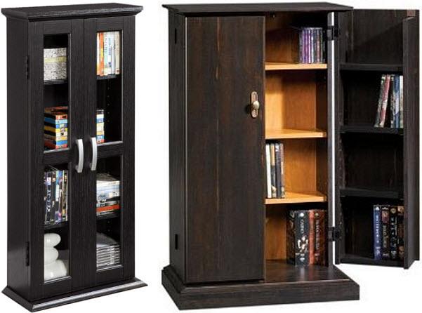 Attirant Multimedia Storage Cabinets