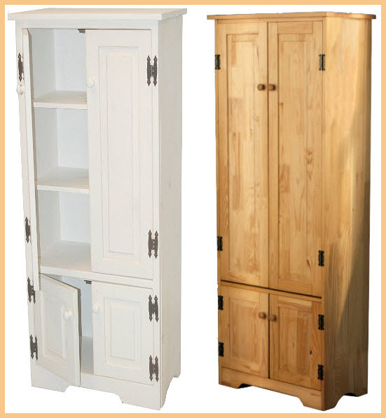 Tall kitchen storage cabinet for Kitchen cabinets storage