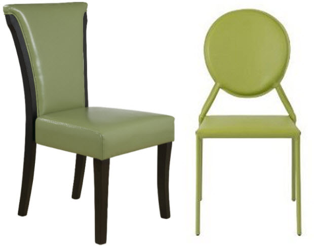 Design Green Dining Chair Steel Midcentury Dining Chair Green – Green Leather Dining Chairs