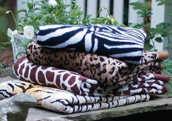 Animal Print Beach Towels Whereibuyit Com