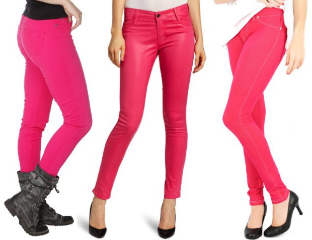 Pink - Shop womens jeans ladies fashion denim at M&S. Find best fit boyfriend, skinny, jeggings & high-waist jeans in a variety of washes for casual chic. Buy now.