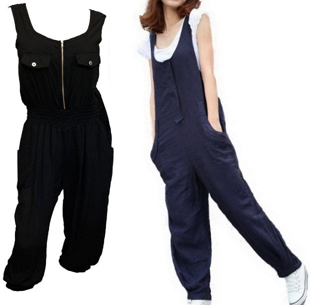 Model Casual Sexy V Neck Full Length Rompers Womens Jumpsuitin Jumpsuits
