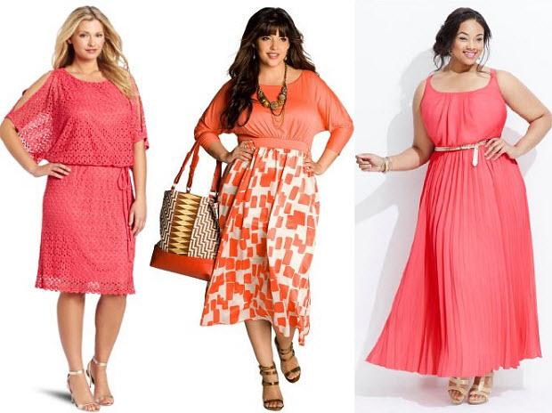 Coral plus size dresses – WhereIBuyIt.com