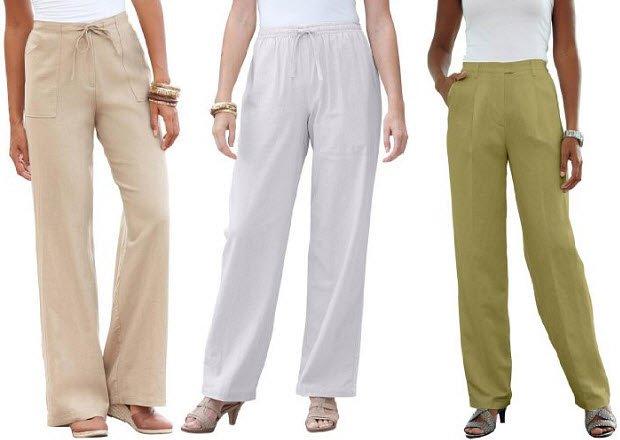tall womens linen pants - Pi Pants