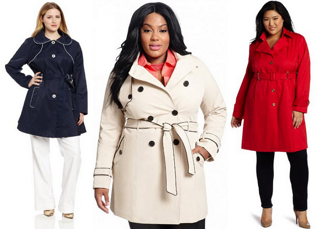 cf84c2ccada Plus size womens trench coats – WhereIBuyIt.com