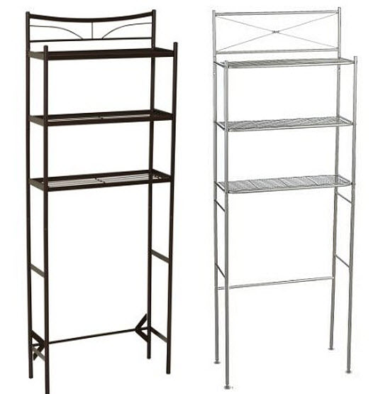 Over-the-toilet bathroom etagere – WhereIBuyIt.com