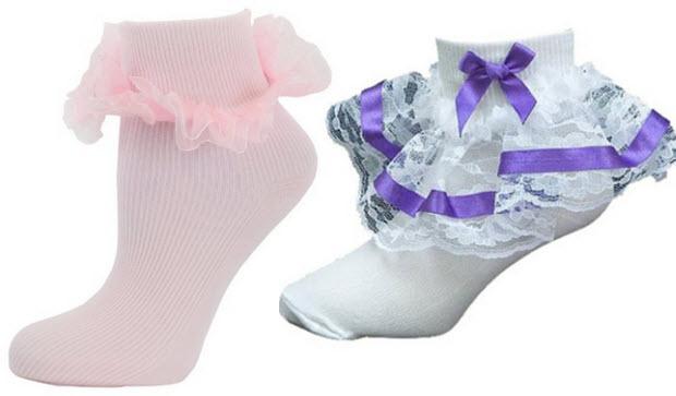 Little Girls Dress Socks