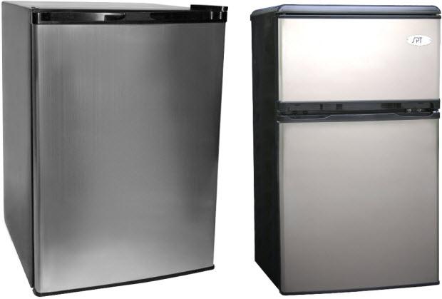 Small dorm fridge