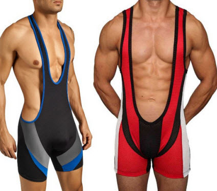 Low-cut-wrestling-singlet b
