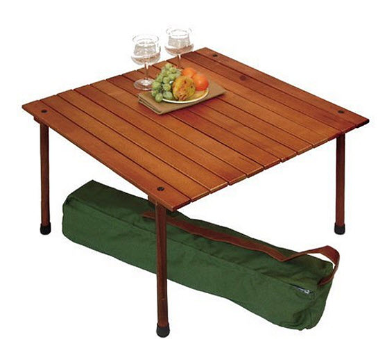 Roll up picnic table