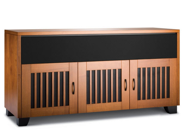 Wood TV consoles