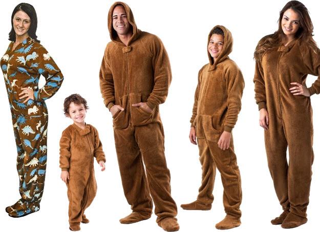 Brown onesies