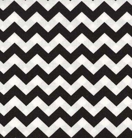 Chevron print sheets