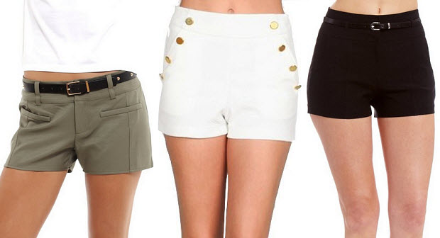 Dressy shorts for women
