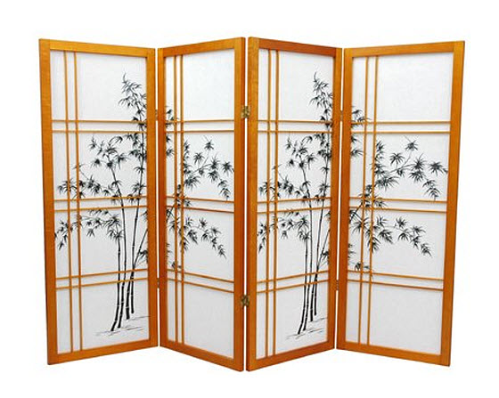 Japanese style room divider privacy screen WhereIBuyItcom