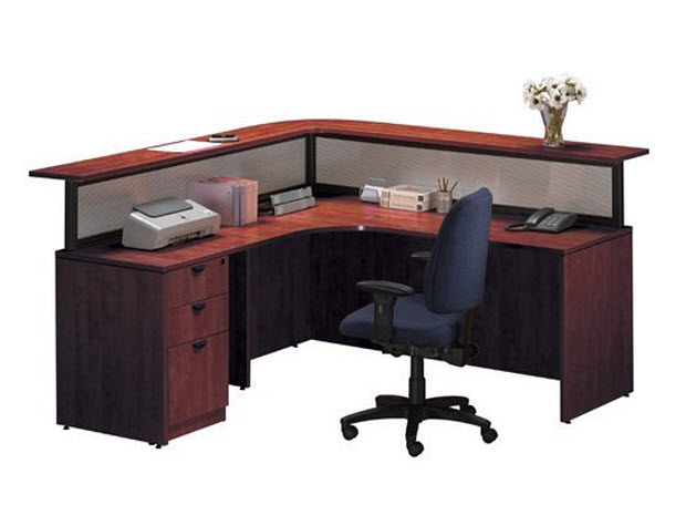 Left return desk