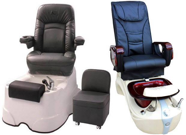Professional pedicure chairs with massage