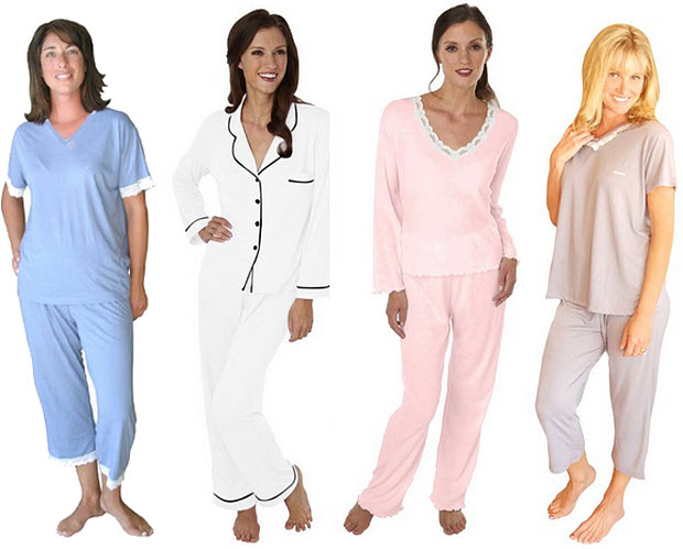 Wicking pajamas for menopause