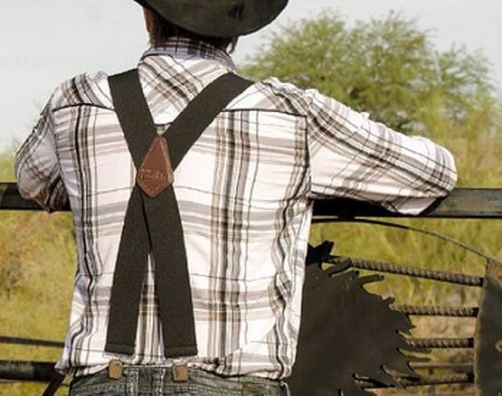 Work suspenders for men