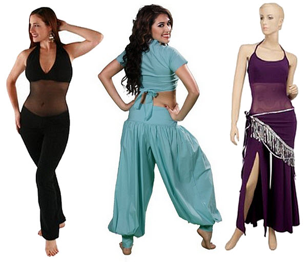Belly dance unitards