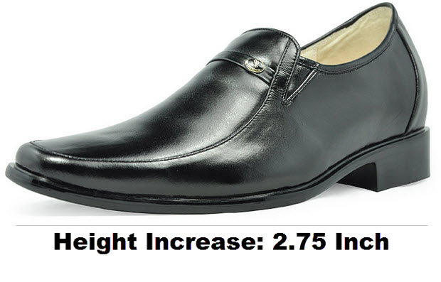 Height increasing elevator shoes