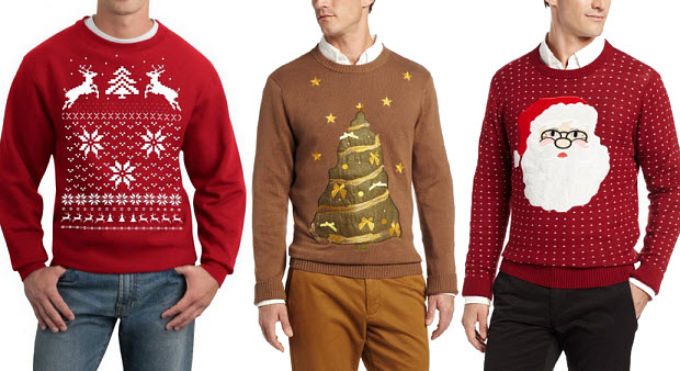 Tacky Christmas sweaters for men