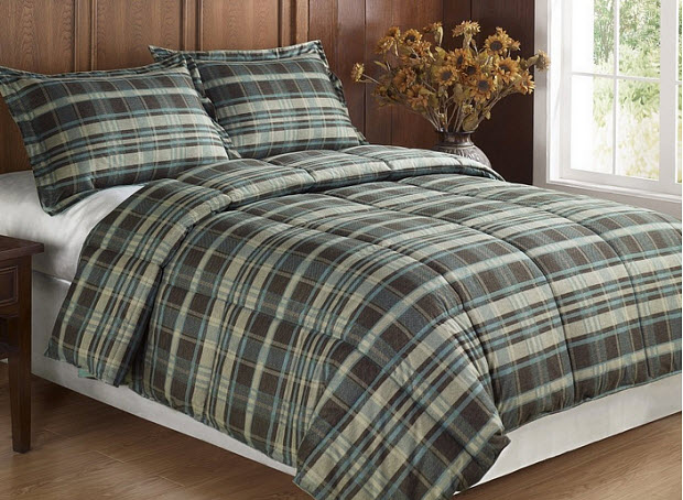 Plaid Flannel Comforter Whereibuyit Com