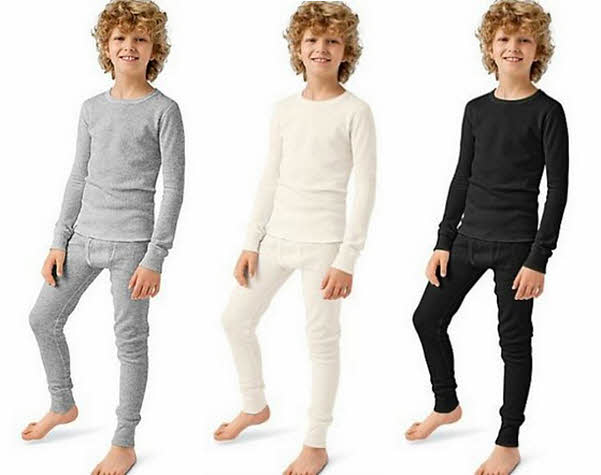 Boys thermal underwear