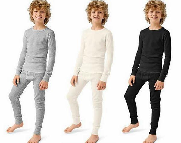 Boys thermal underwear