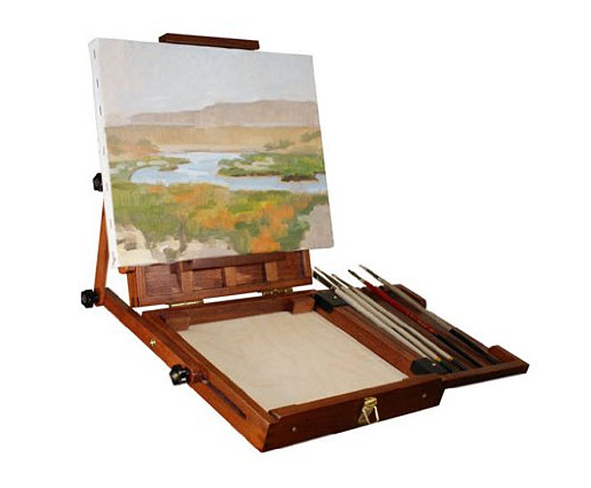 Watercolor pochade box