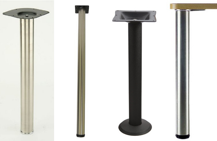 Counter height table legs