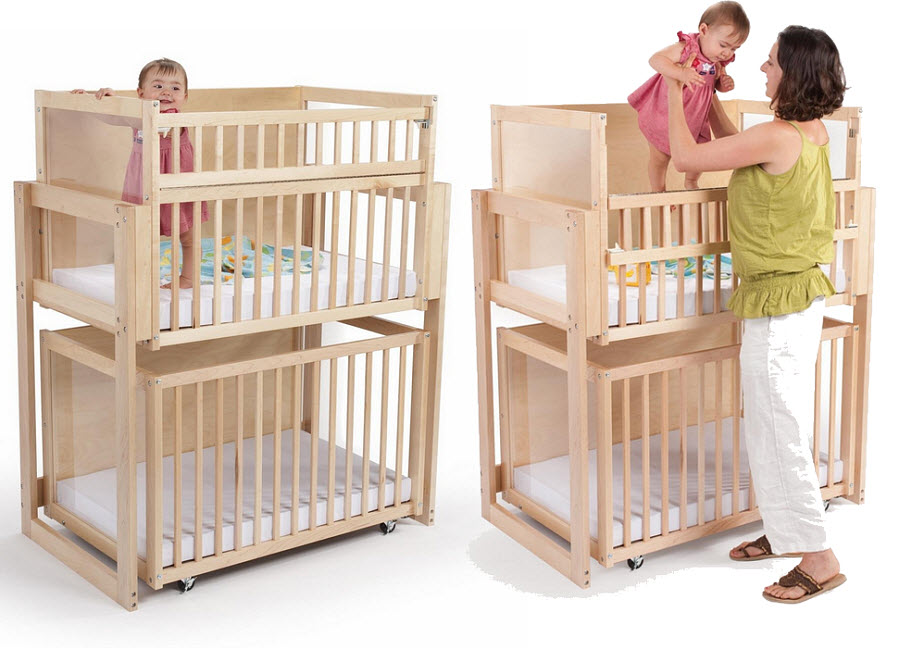 Buy baby cradles cribs cots bassinets furniture download pdf for Double decker crib