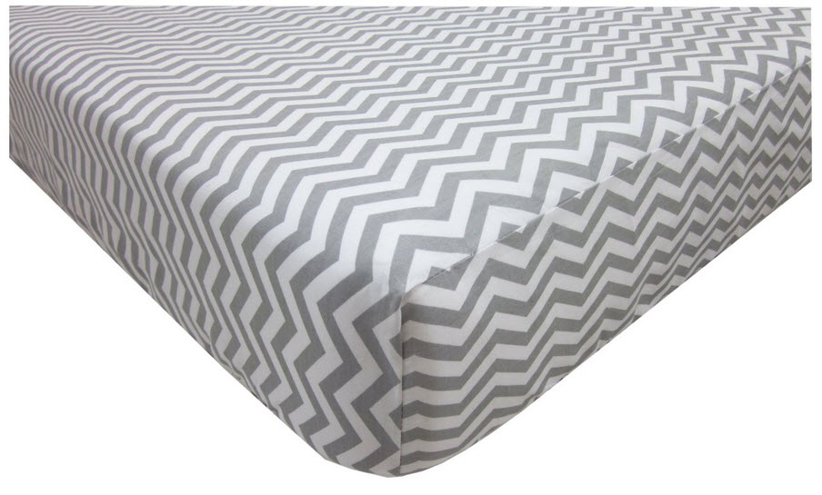 Grey chevron sheets