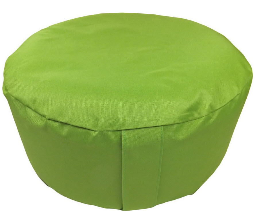 Inflatable ottoman foot stool
